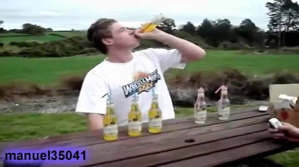 6 botellas de vodka FAIL