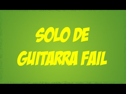 Solo de guitarra fail / La locura del Black Friday